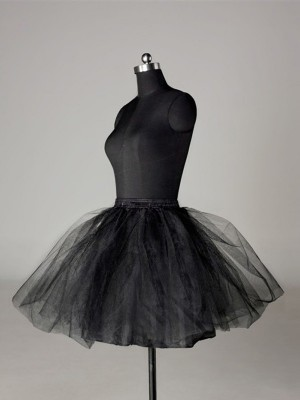 Ball Gown 2 Tier Short Length Tulle Netting Special Occasion Petticoats