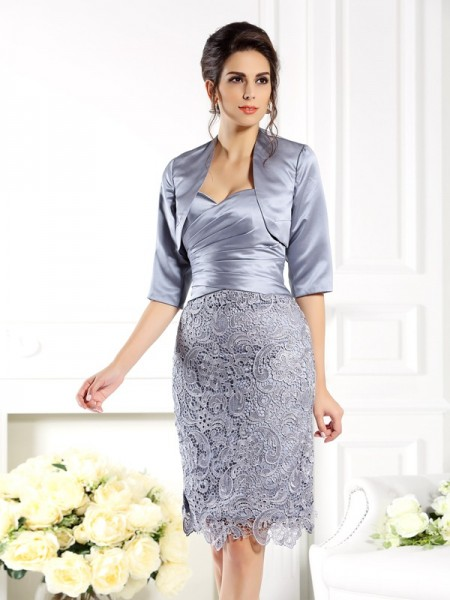 Stylish 1/2 Sleeves Special Occasion Satin Wrap