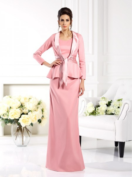 Fashion 3/4 Sleeves Woven Satin Elastic Special Occasion Wrap