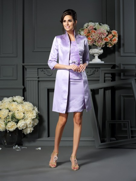 Stylish Satin Special Occasion 3/4 Sleeves Wrap