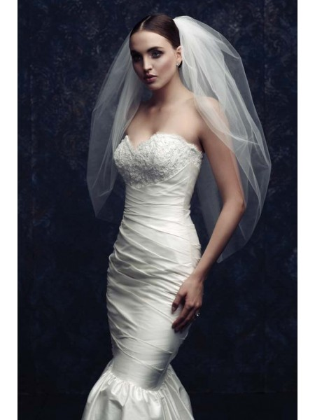 Fashion Trends Elegant Tulle Wedding Veils