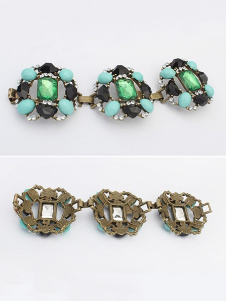 Fashion Trends Occident Emeralds Luxurious Hot Sale Bracelets