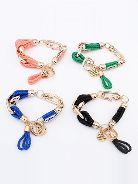 The Most Stylish Occident original Foreign trade Woven Hot Sale Bracelets