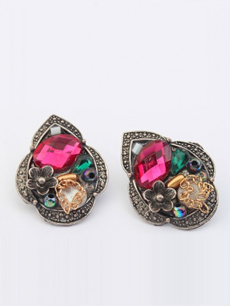 The Most Trendy Occident Exotic Retro Personality Stud Hot Sale Earrings
