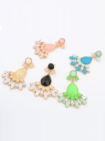 The Most Trendy Occident Sweet Geometry All-match Hot Sale Earrings