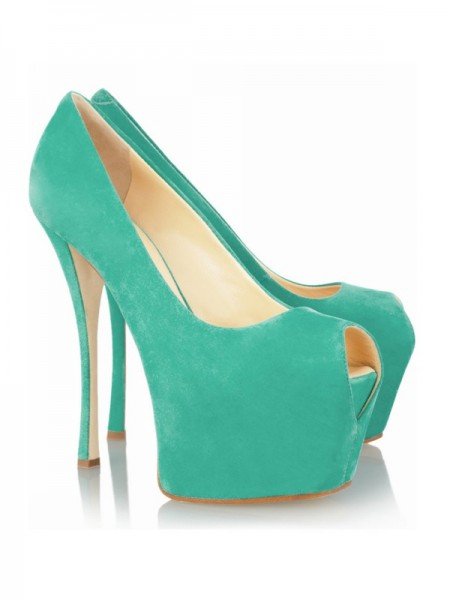 The Most Stylish Women's Stiletto Heel Peep Toe Platform High Heels